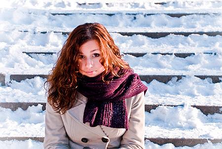 Появление герпеса на губах в холодное время года