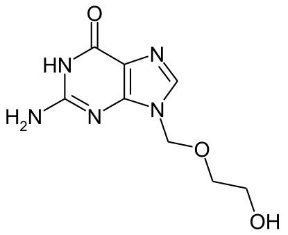 Ацикловир: химическая формула